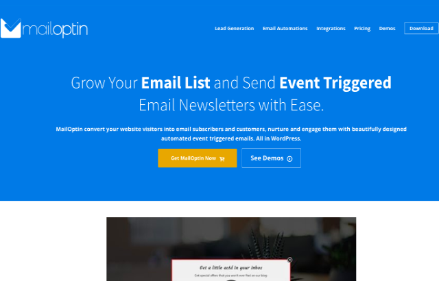 MailOptin Review: The Ultimate Email List Building Plugin?