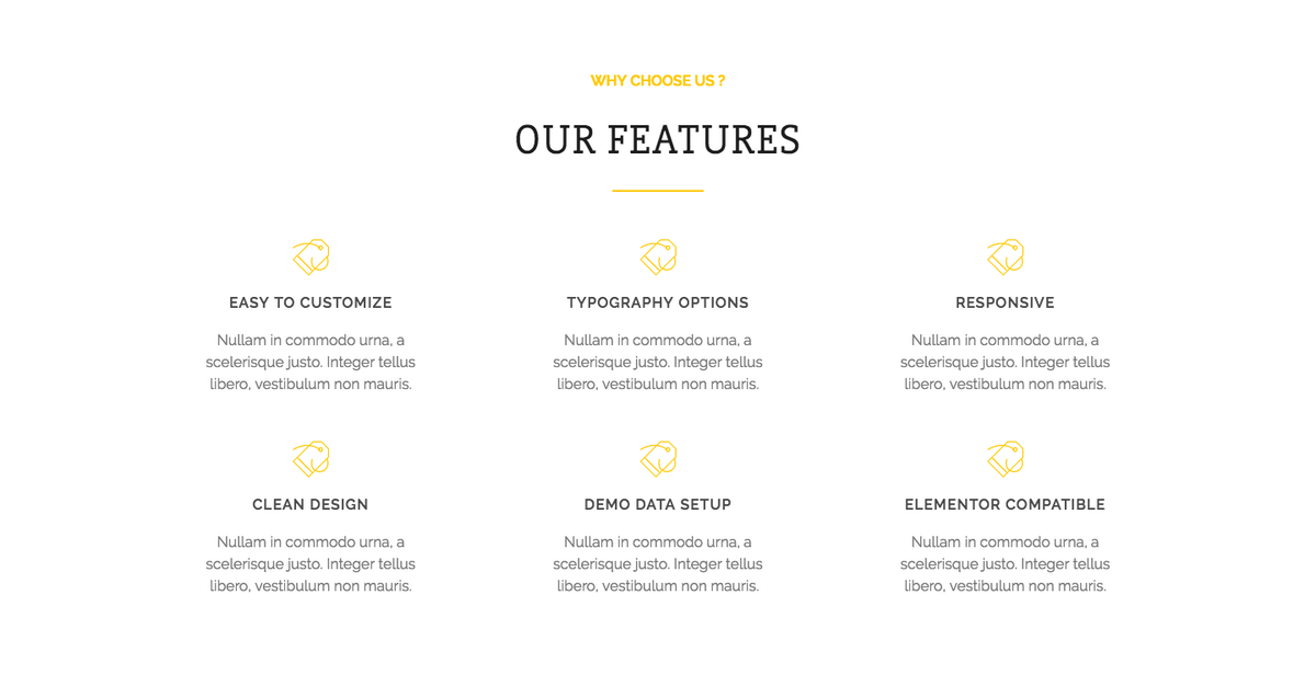 Solitair WordPress Theme with Features