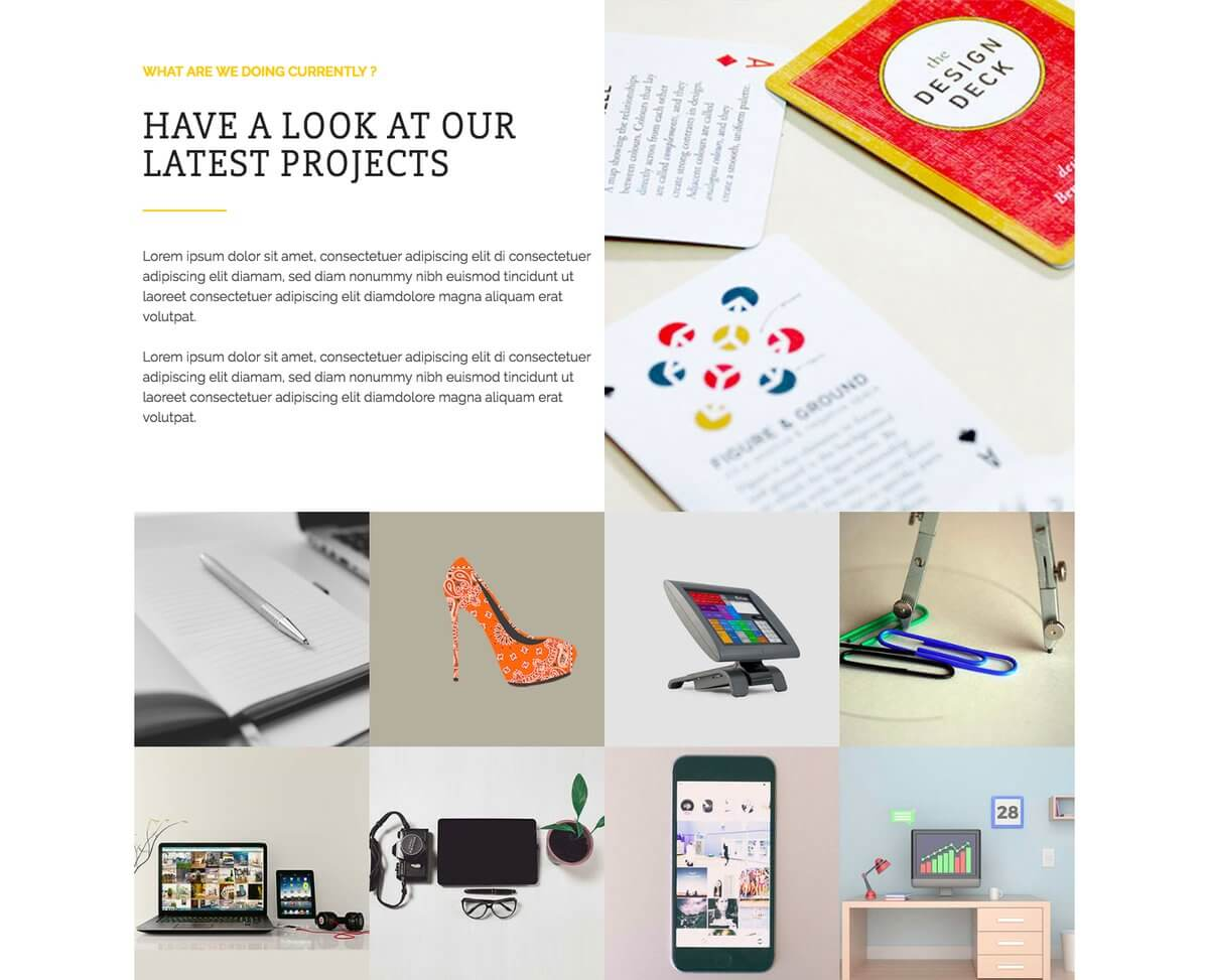 Solitair WordPress Theme With Portfolio