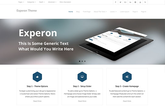 free WordPress multi-purpose theme