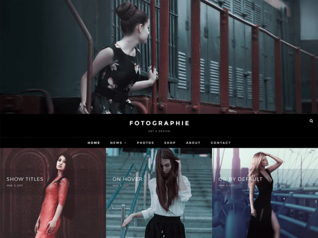 Fotografie- Free WordPress Multipurpose Theme