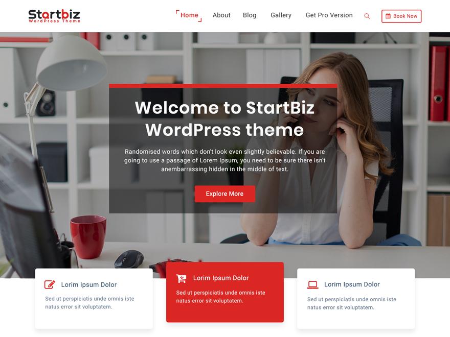 StarBiz-best free WordPress business themes