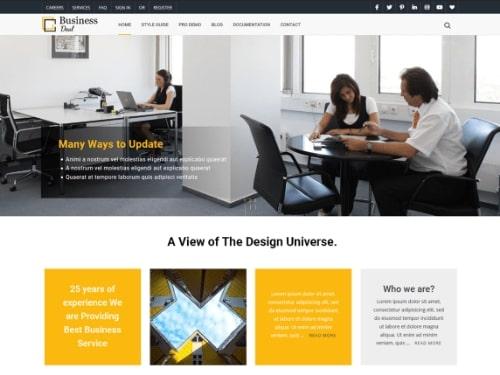 BusinessDeal- Free WordPress business theme
