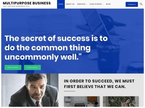 Multipurpose Business- Free multipurpose WordPress theme