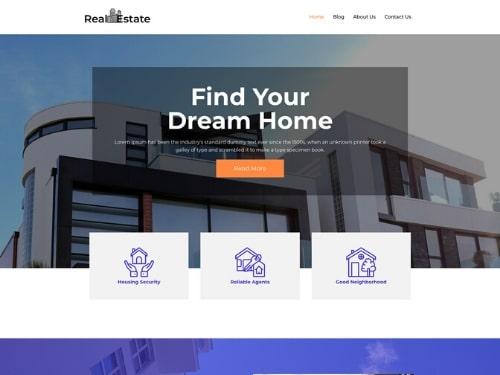 Real Estate- WordPress Multipurpose Business Theme