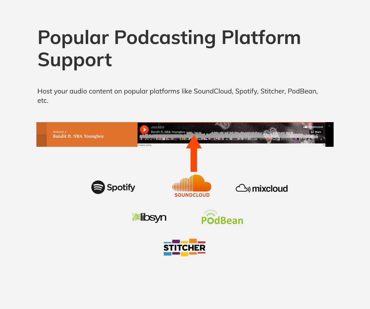Podcast WordPress theme