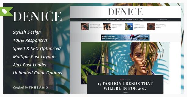 Denice - Wp AdSense Theme