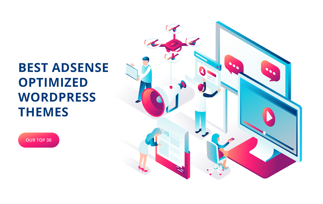24 Adsense Optimized WordPress Themes for your website in 2021(Free+Paid)