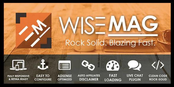 WiseMag- AdSense Theme