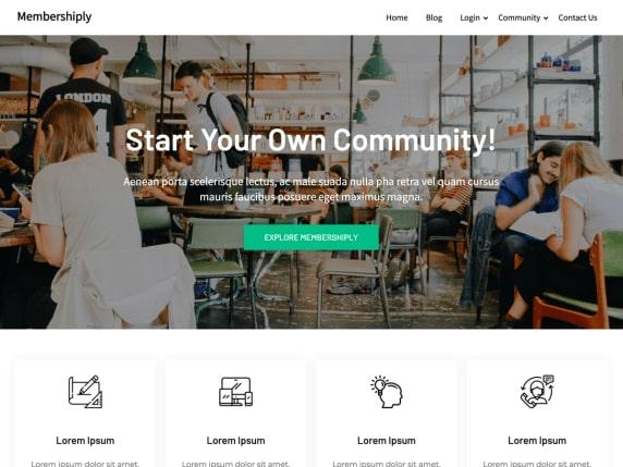 Membershiply- WordPress ads optimized theme