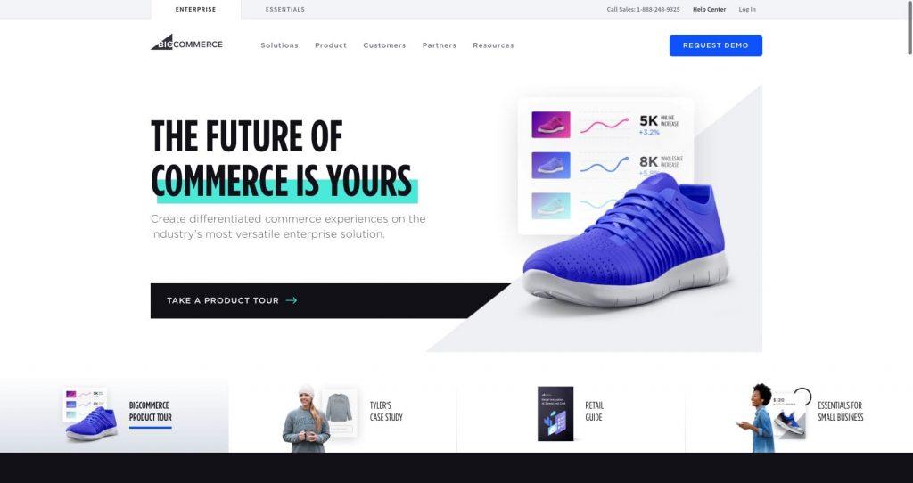 BigCommerce- eCommerce website building platform