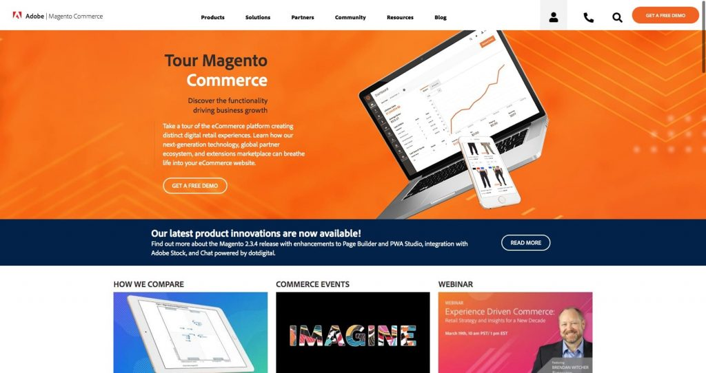 Magento- eCommerce platform