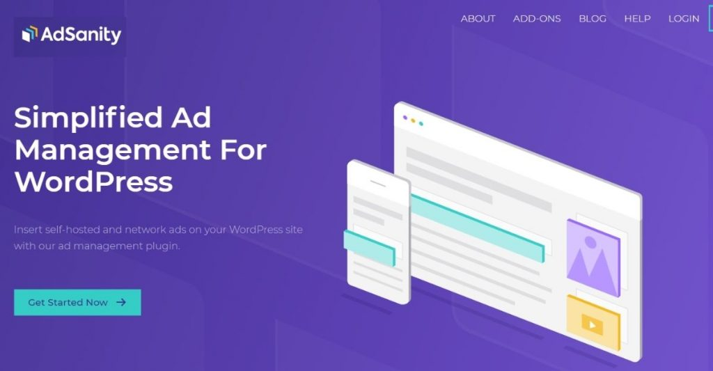 WordPress advertising plugin- AdSanity