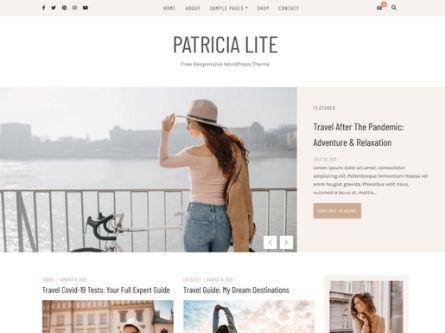 Patricia Lite- Free Blog WordPress Theme